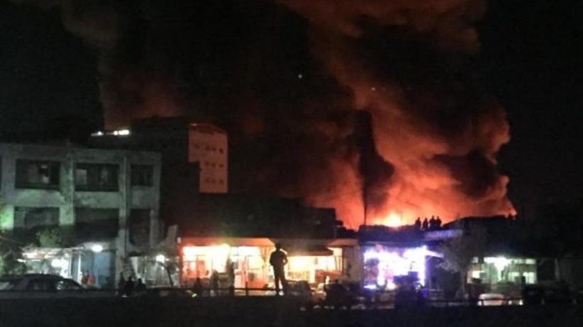 Pożar na stacji benzynowej w Kabulu. Są ofiary