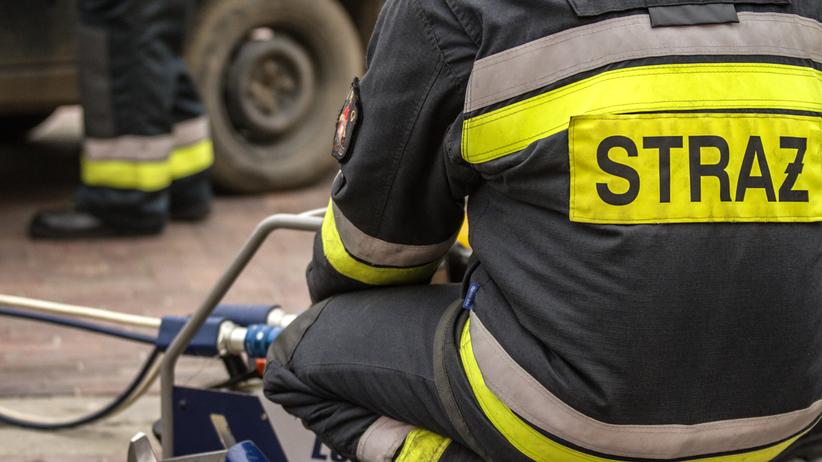 Pożar w kamienicy w centrum Poznania. Zginęła kobieta