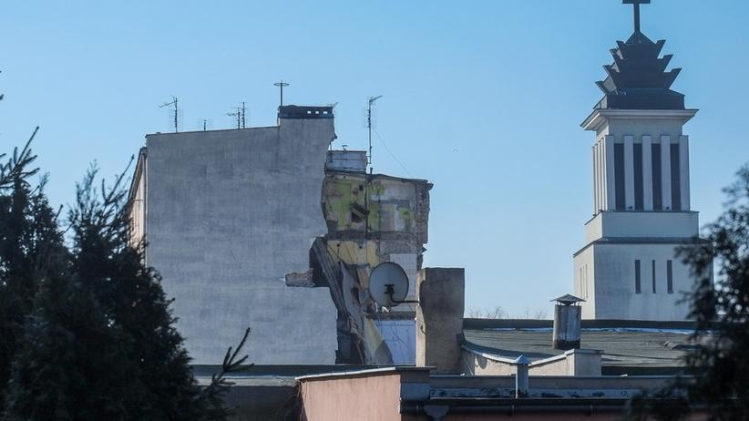 Poznań, kamienica, wybuch