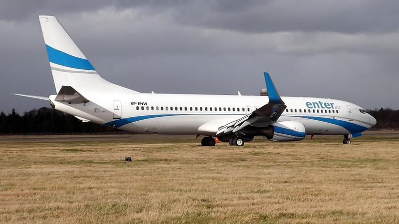 Poznań. Samolot Enter Air awaryjne lądował tuż po starcie