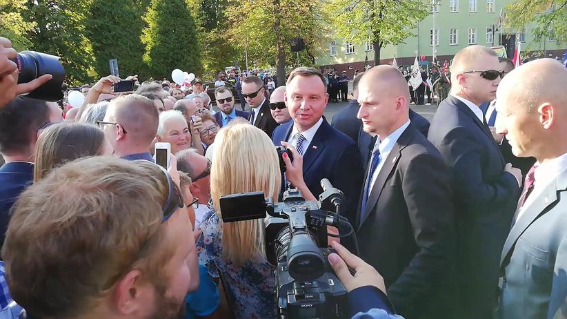 Prezydent Andrzej Duda o zamknieciu zakładu w Pieńsku: otworzą następny