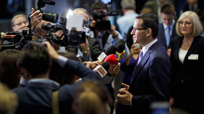 Prezydent Andrzej Duda ocenia premiera Mateusza Morawieckim