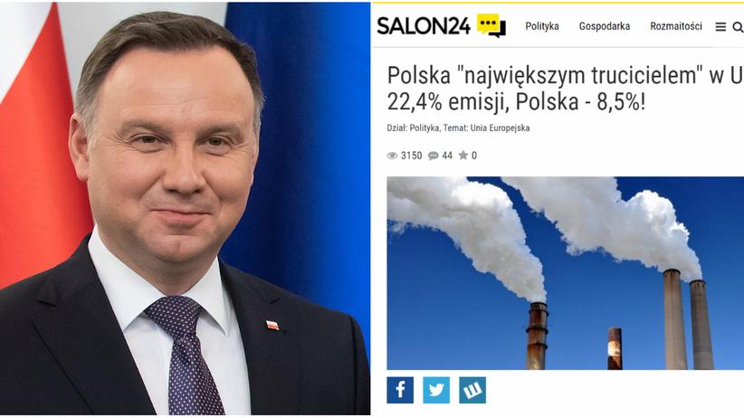 Prezydent Andrzej Duda przeprosił za polecanie kontrowersyjnego artykułu