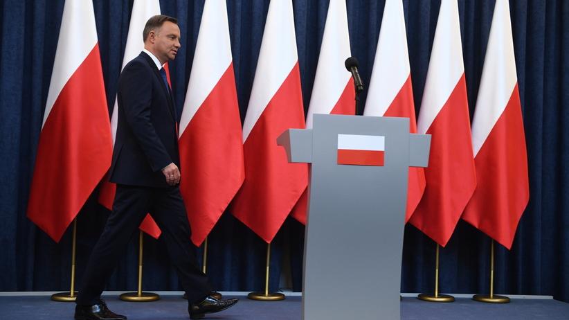 Prezydent Andrzej Duda zawetował nową ordynację wyborczą