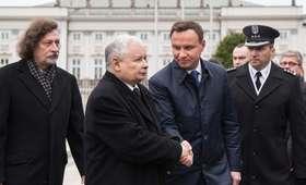 """Jarosław Kaczyński """"krystalicznie uczciwy""""? Andrzej Duda jednoznacznie o prezesie PiS"""