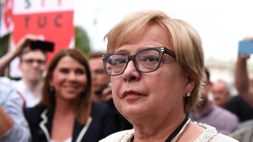 Prof. Małgorzata Gersdorf wzywa Unię do działań w sprawie sądów