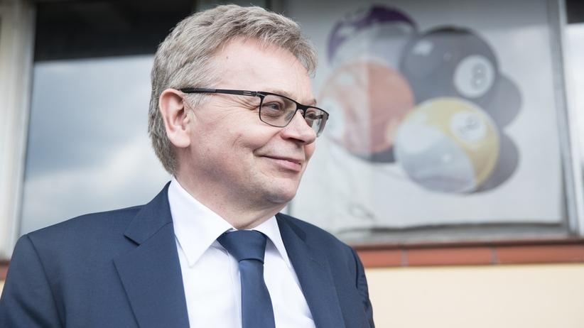 Tadeusz Zysk w środę prezentował między inynmi swoje propozycje wyborcze dla Poznania
