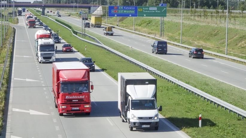 Protest 69. Akcja kierowców tirów na drogach