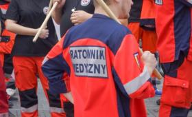 Protest ratowników medyków