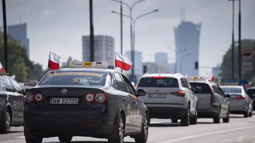 Protest warszawskich taksówkarzy. Przewidywana duża blokada stolicy