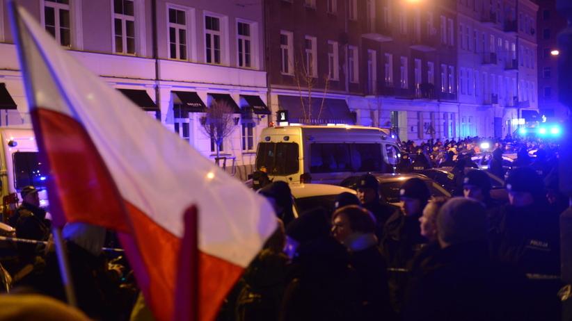 Protest Obywateli RP przed Sejmem. Ponad sto postępowań policji