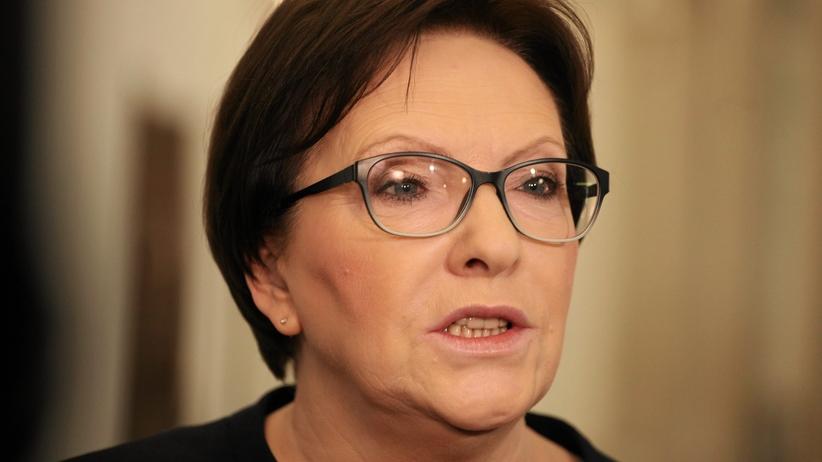 Ewa Kopacz złożyła zeznania w prokuraturze: Nie pozwolę, aby z narodowej tragedii robić politykę jednej partii
