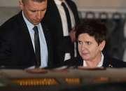 Beata Szydło opuszcza budynek prokuratury