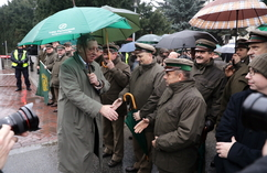 Zwolennicy ministra Szyszki