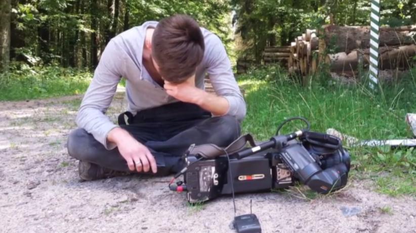 Operator telewizji Polsat pobity w Puszczy Białowieskiej