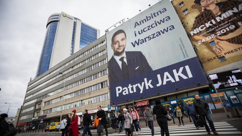 Radio ZET: niemal dwa miliony na kampanię w Warszawie wydał Patryk Jaki