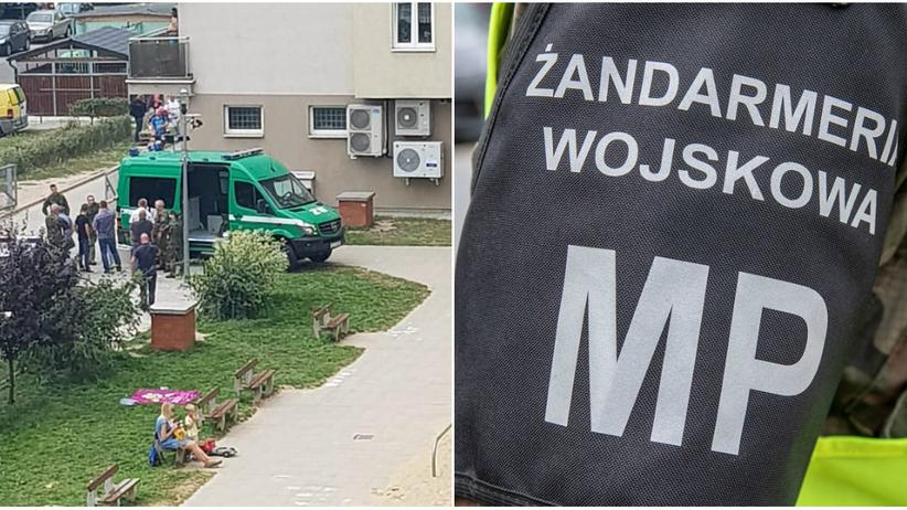 Radom. Oficer wojskowy zamordował swoją żonę z mieszkaniu