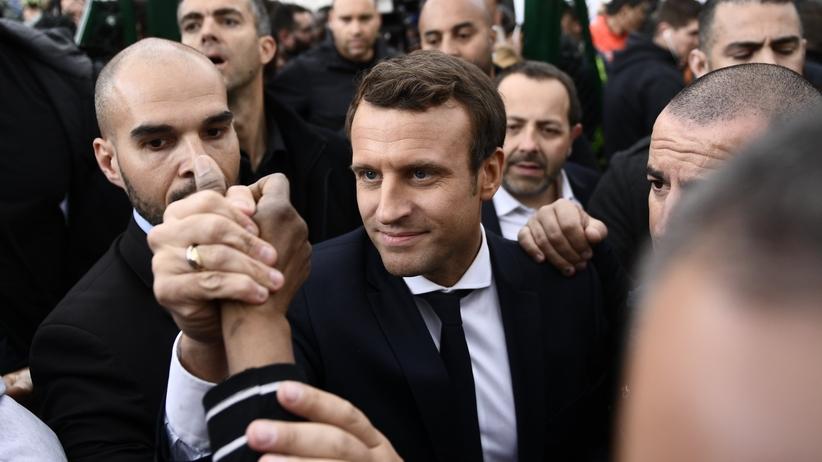 Macron chce sankcji wobec Polski. Rzecznik rządu: nie godzimy się na wykorzystywanie w kampanii