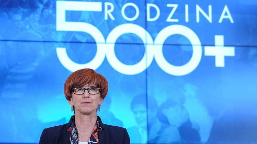 Rafalska: Złożono już 2,5 miliona wniosków o 500 plus