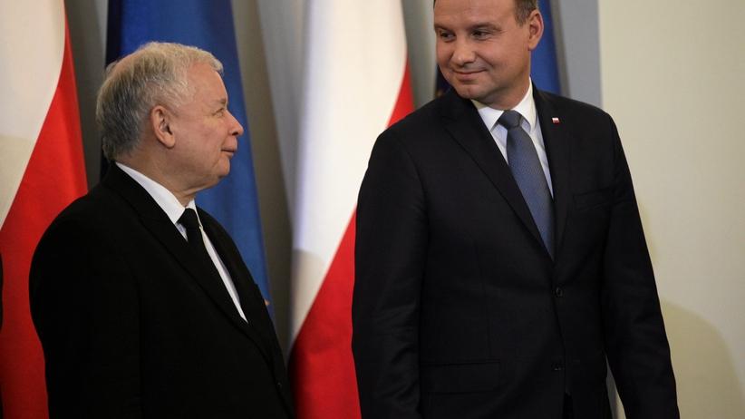 """""""Fakt"""": było tajne spotkanie prezydenta z prezesem PiS ws. reformy sądownictwa"""