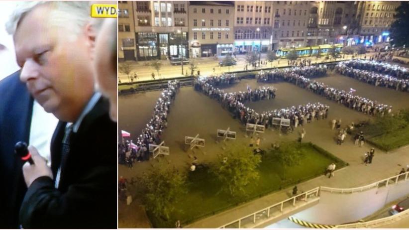 Cyrk na komisji sprawiedliwości. Suski zabrał mikrofon, Piotrowicz nie panował nad sytuacją. W całej Polsce protesty
