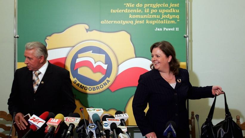 Beger: Jestem przekonana, że Andrzej Lepper został unicestwiony