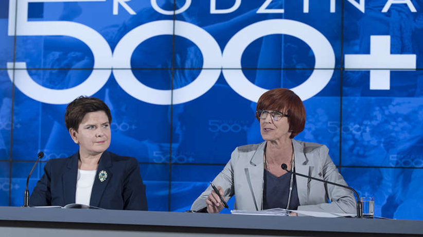 Elżbieta Rafalska potwierdza: Zaproponujemy zmiany w programie Rodzina 500 plus