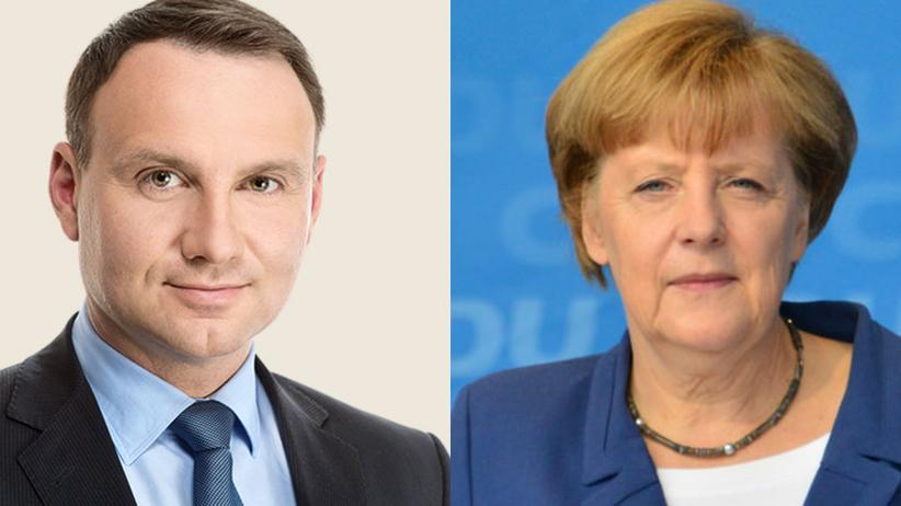 Andrzej Duda rozmawiał telefonicznie z Angelą Merkel