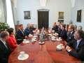 Rozmowy liderów opozycji z preydentem Dudą o ordynacji