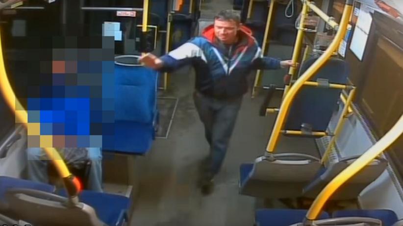 Ruda Śląska: mężczyzna ukradł kasownik z autobusu miejskiego [WIDEO]