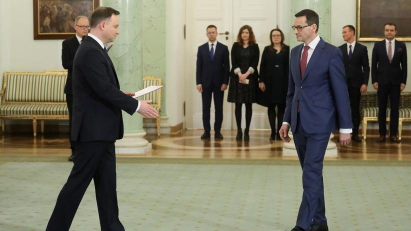 Powołanie rządu Morawieckiego. Nieoficjalnie: Jest decyzja Andrzeja Dudy