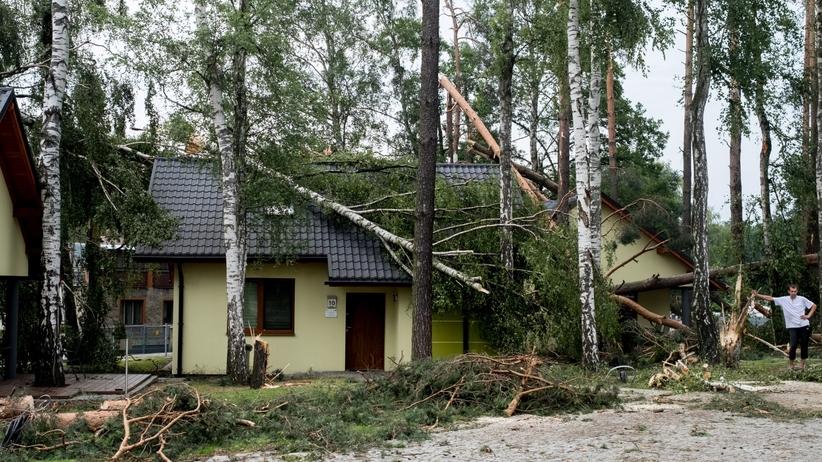 Burze przeszły przez Polskę. 28 tysięcy ludzi bez prądu