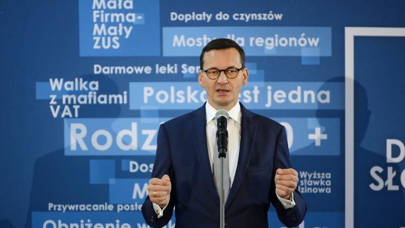 Rzeczniczka rządu Joanna Kopcińska o sprostowaniu premiera Morawieckiego