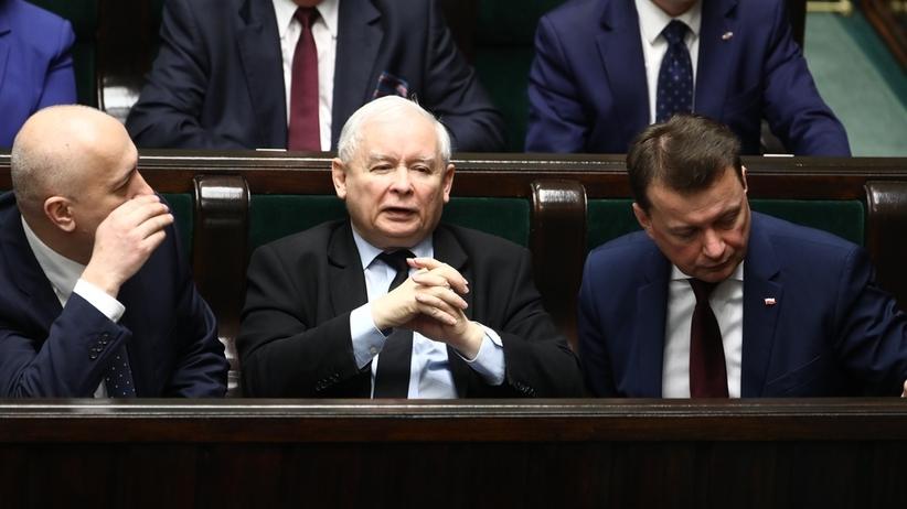 """""""RZ"""": ważny dla Kaczyńskiego projekt może utknąć w Sejmie"""
