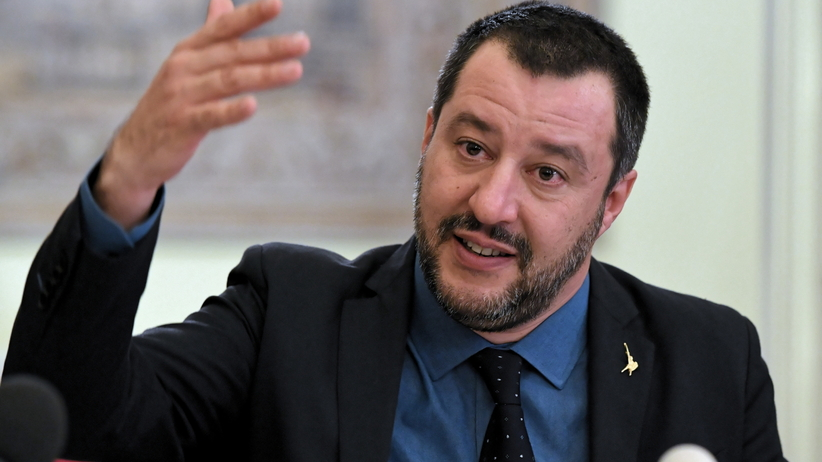 Salvini po spotkaniu z Kaczyńskim: rozmowy intensywne, satysfakcjonujące