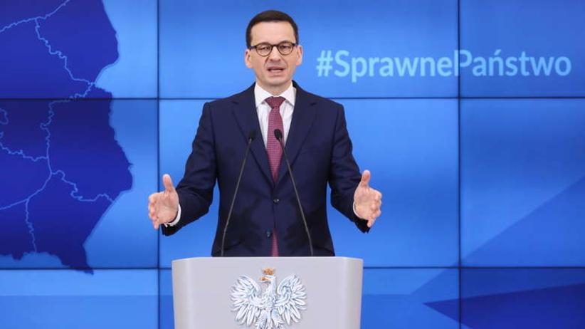 Morawiecki potwierdził dementi amerykańskiego Departamentu Stanu dot. rzekomych sankcji [WIDEO]