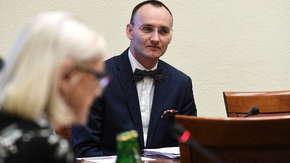 Sejmowe komisje za nowym kandydatem na Rzecznika Praw Dziecka Mikołajem Pawlakiem