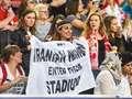 Iranka wyrzucona z meczu w Atlas Arenie. Powodem transparent dot. praw kobiet