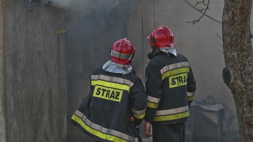Spłonął drewniany dom. Jedna osoba nie żyje