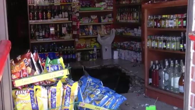 Katastrofa kamienicy na Śląsku. Cztery osoby poszkodowane [WIDEO]