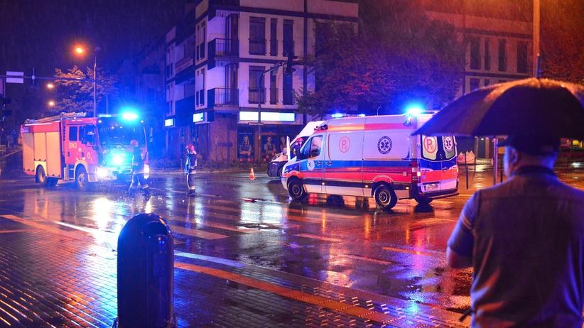 Śląskie: zderzenie trzech ciężarówek i dwóch aut. Są ofiary śmiertelne