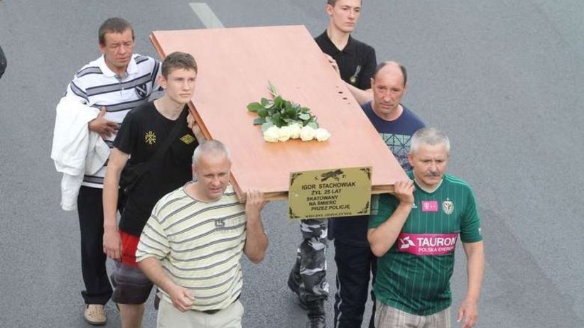 Pogrzeb Igora Stachowiaka