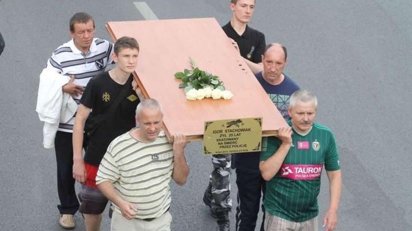 Śmierć Igora Stachowiaka. Są zarzuty dla czterech osób