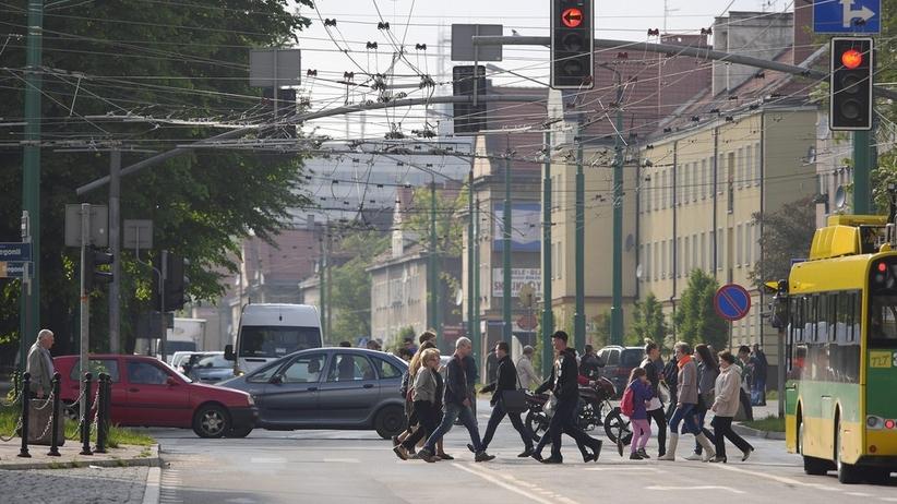 Śmiertelny wypadek na przejściu dla pieszych