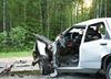 Wypadek na skrzyżowaniu Dróg Krajowych w świętokrzyskim