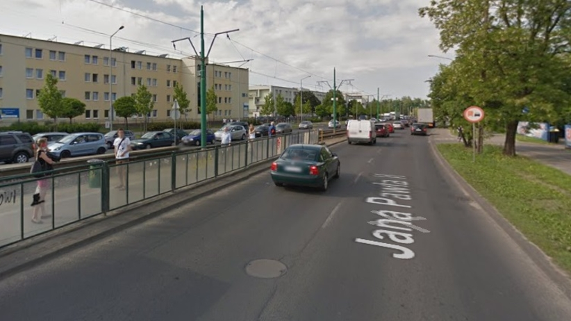 Dramat w Poznaniu, pieszy zginął pod kołami ciężarówki. Ogromne korki