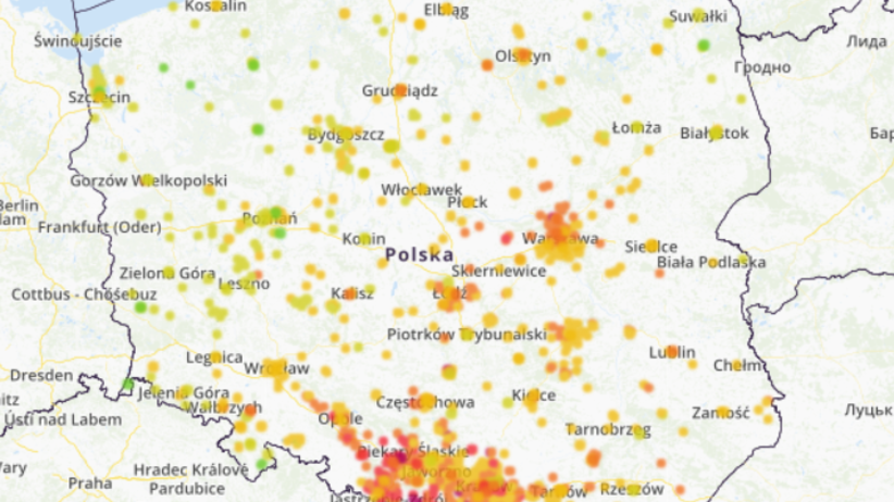Alarm smogowy w Polsce. Normy przekroczone o 600 procent!