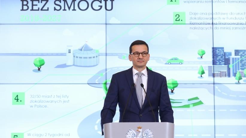Morawiecki walczy ze smogiem