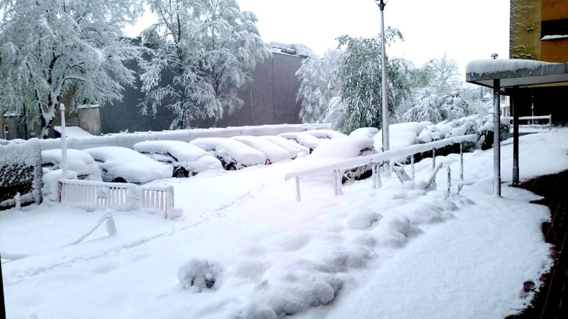 Biała zima w kwietniu! Zobacz zdjęcia od naszych czytelników [GALERIA]