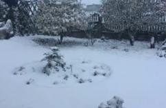 Zima na Śląsku 18 kwietnia